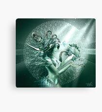 Fractal Mermaid Canvas Print