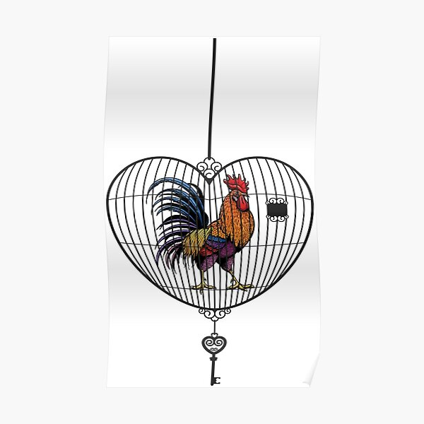 Rooster locked up  Poster