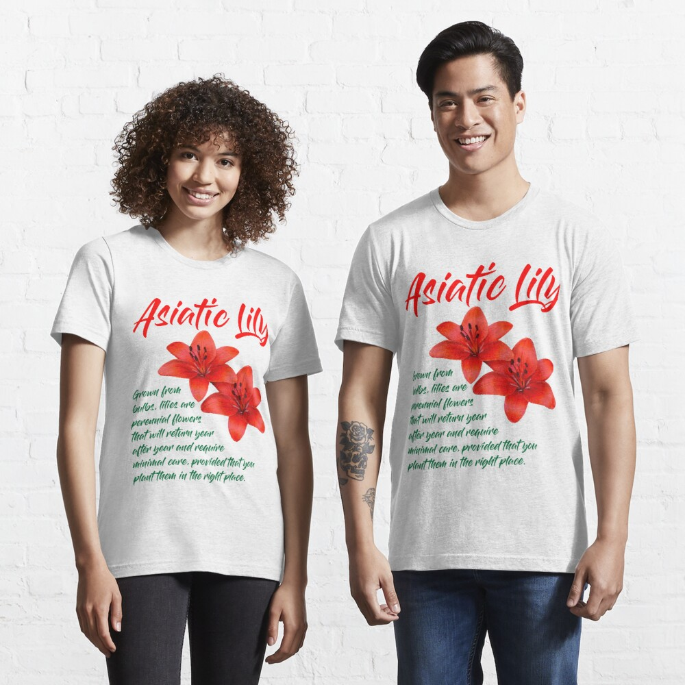 Asiatic Lily T-Shirt Design Essential T-Shirt