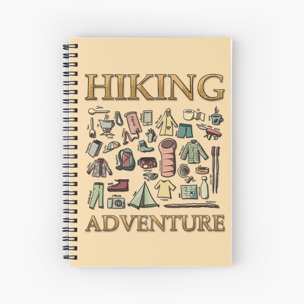Hiking Adventure Spiral Notebook