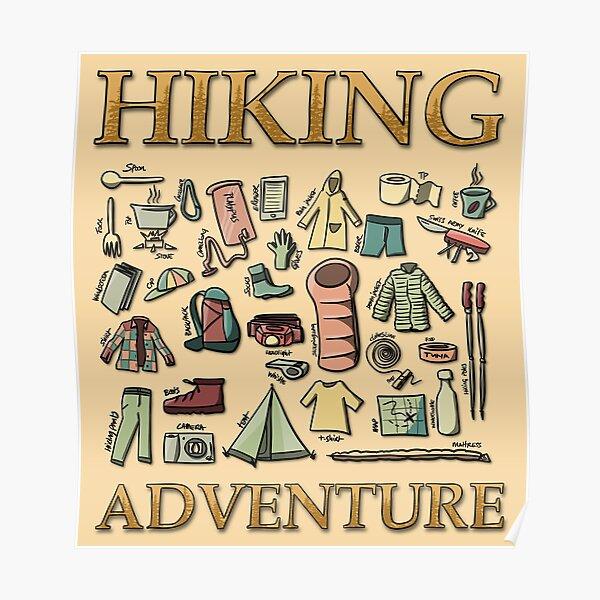 Hiking Adventure Poster
