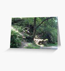 Glendalough, Ireland Greeting Card