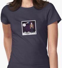 Mad man with a box Women's Fitted T-Shirt