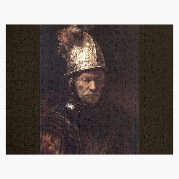 REMBRANDT. The Man with the Golden Helmet. Jigsaw Puzzle