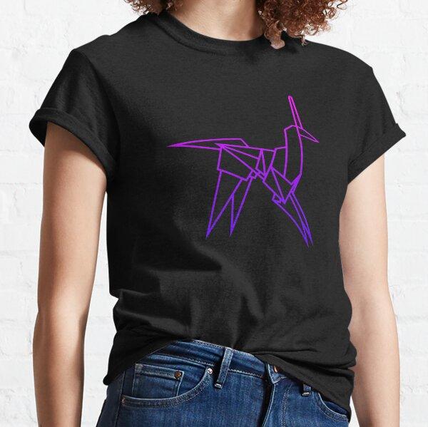 Retro Blade Runner Origami Unicorn Classic T-Shirt