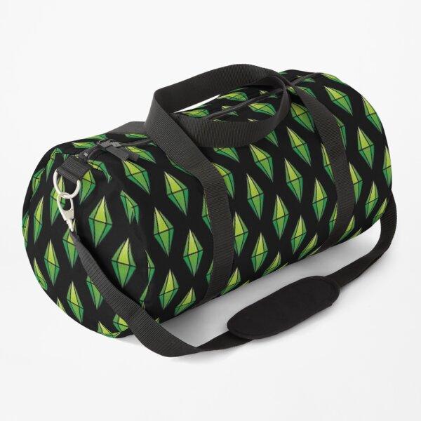 Green Diamond Duffle Bag