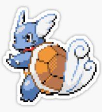 Pokemon - Wartortle Sprite  Sticker