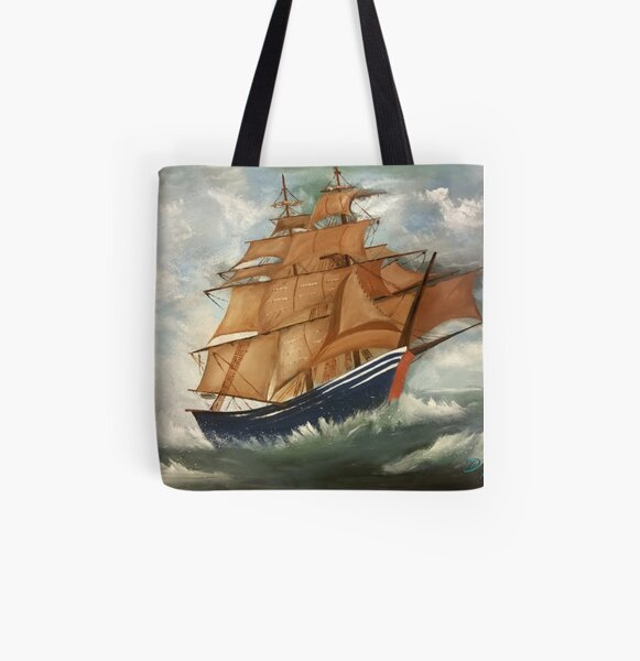 The Voyage by David Eriksen All Over Print Tote Bag