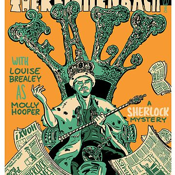 Vintage Poster - The Reichenbach Fall by schweizercomics