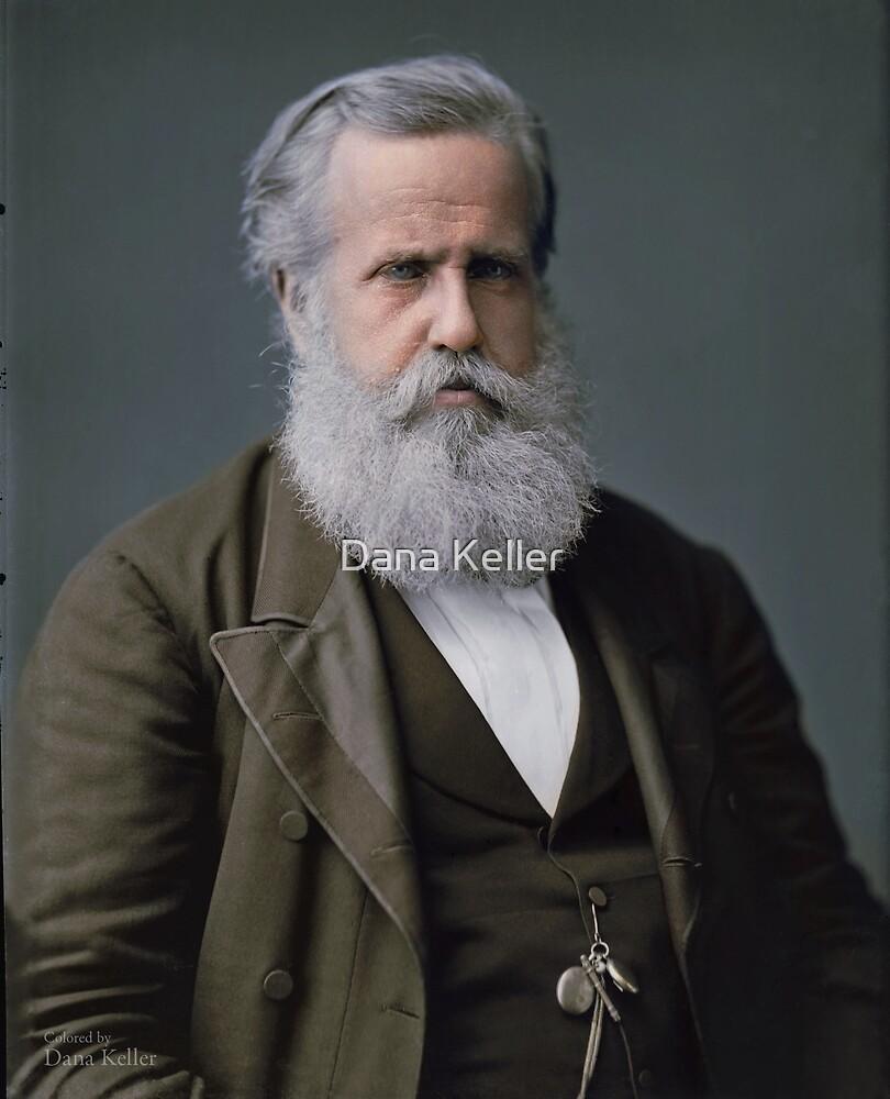 Emperor Pedro II of Brazil, 1876 by Dana Keller