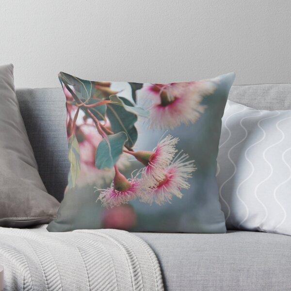 Corymbia Fairy Floss #5 Throw Pillow