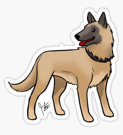 Malinois Glossy Sticker