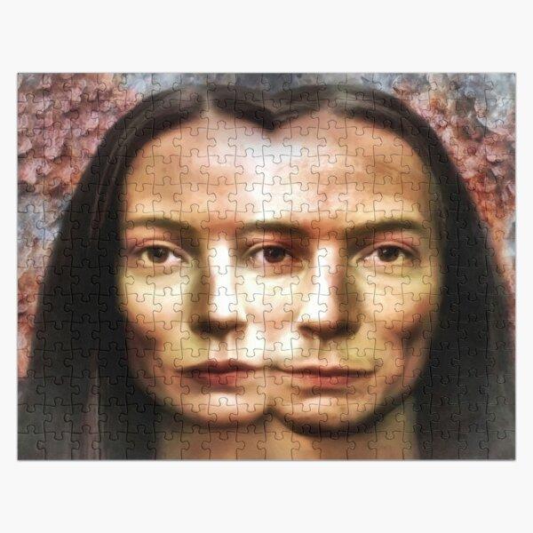 Eva,Adam und das allsehende Auge Puzzle