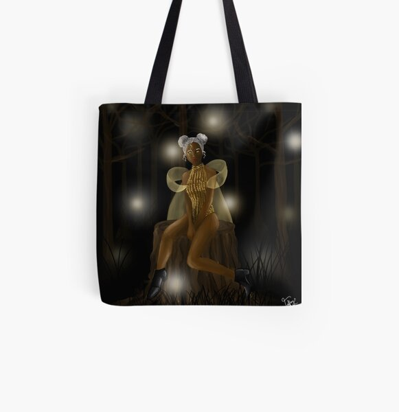 The Glow All Over Print Tote Bag