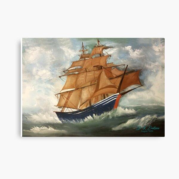 The Voyage by David Eriksen Canvas Print