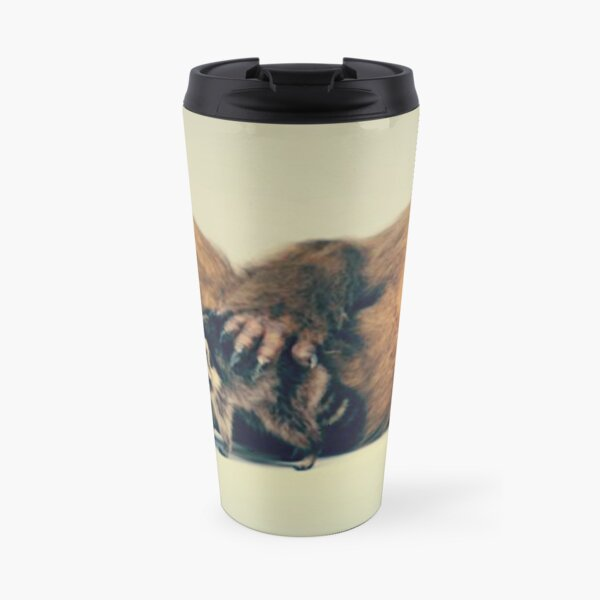 Funny Sasquatch Pose Travel Mug