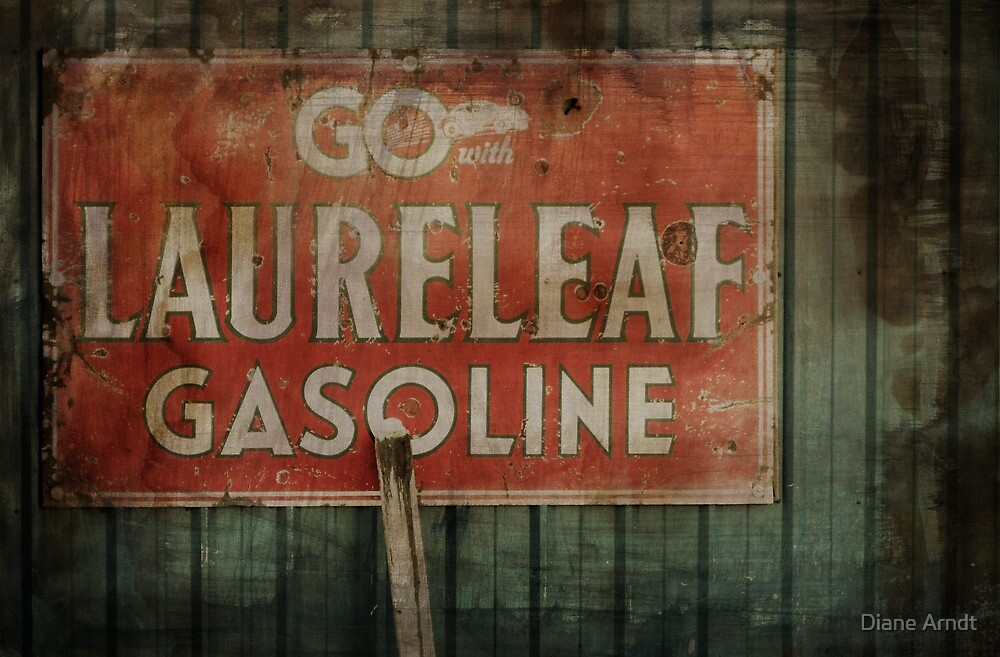 The Old Gas Sign by Diane Arndt