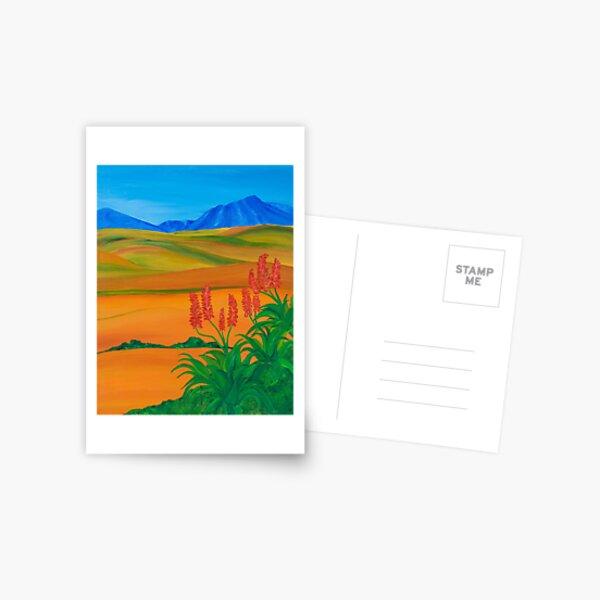 Red Aloe Postcard