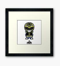 White Power Ranger Framed Print