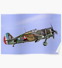 Curtiss Hawk H75C-1 No 82 G-CCVH Poster