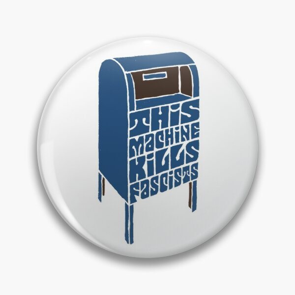 Save the USPS Pin