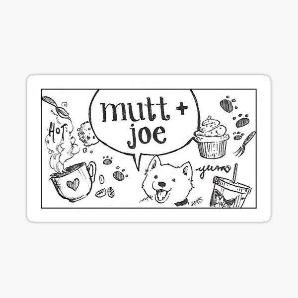 Mutt and Joe Doodle Sticker