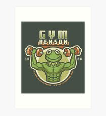 Gym Henson Art Print