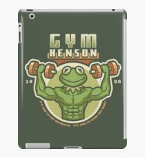 Gym Henson iPad Case/Skin