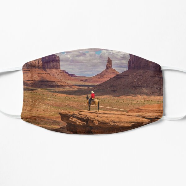 USA. Utah. Monument Valley. Cowboy. Mask