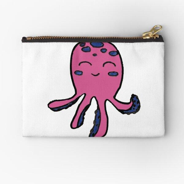 Lina the Octopus Zipper Pouch