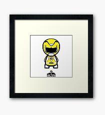 Yellow Power Ranger Framed Print