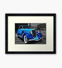 1934 Dodge convertible Framed Print
