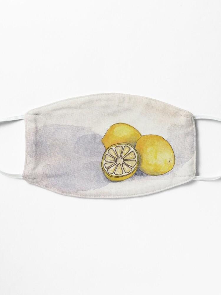 Alternate view of Lemons Mask