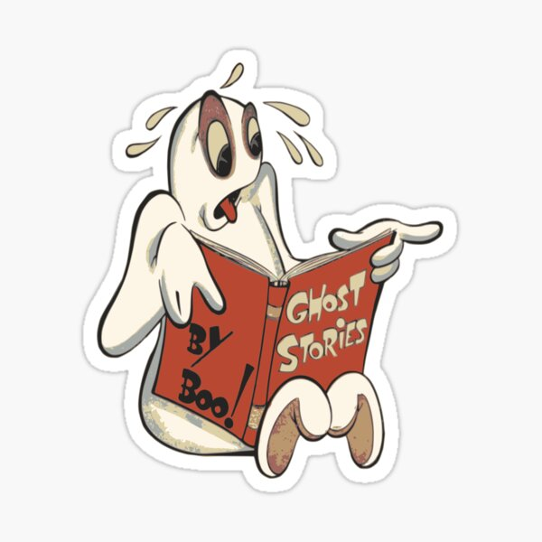 histoire de fantome, boo Sticker