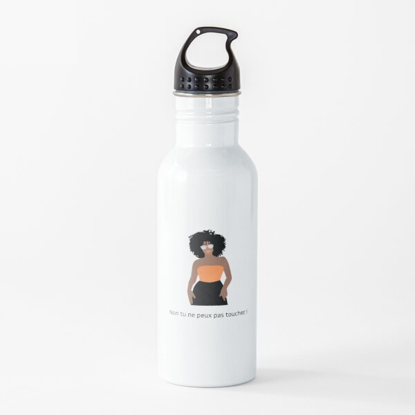Don't touch my hair! Water Bottle
