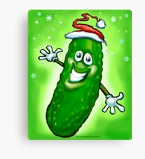 Christmas Pickle Canvas Print