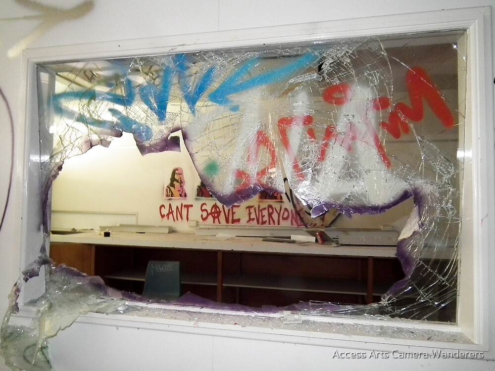 Can't Save Everyone By Matthew Lys by Access Arts Camera Wonderers