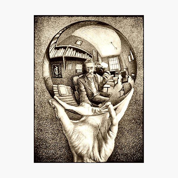 Escher's selfie Photographic Print