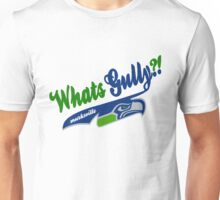 Whats gully? (SEAHAWKS)  Unisex T-Shirt