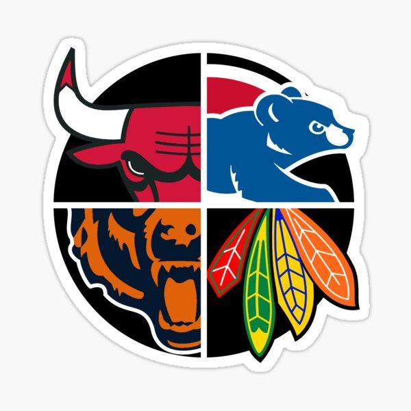 Northside Chicago Sports Teams Sticker