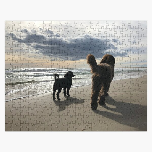 Annie's Dogs at the Beach Jigsaw Puzzle