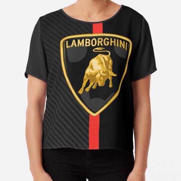 Lamborghini Red Line Chiffon Top