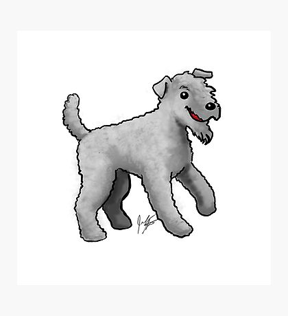 Carrie Blue Terrier Photographic Print