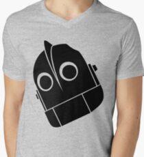 Iron Giant Vector Mens V-Neck T-Shirt
