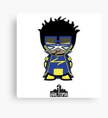 Static Shock Canvas Print