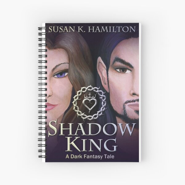 Shadow King Cover Spiral Notebook