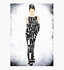 Audrey Hepburn - The Breakfast at Tiffany's Photographic Print