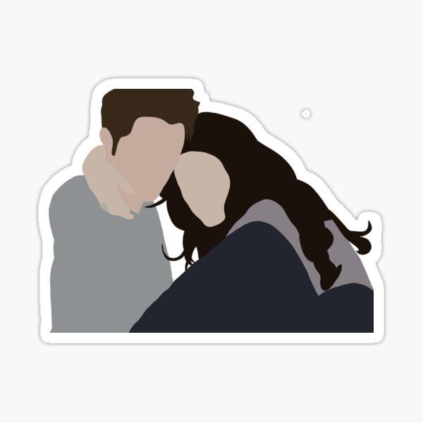 Edward and Bella Sticker
