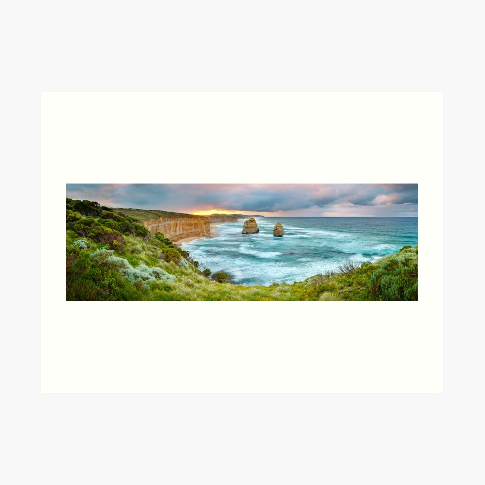 Gibsons Beach, Twelve Apostles, Great Ocean Road, Victoria, Australia Art Print
