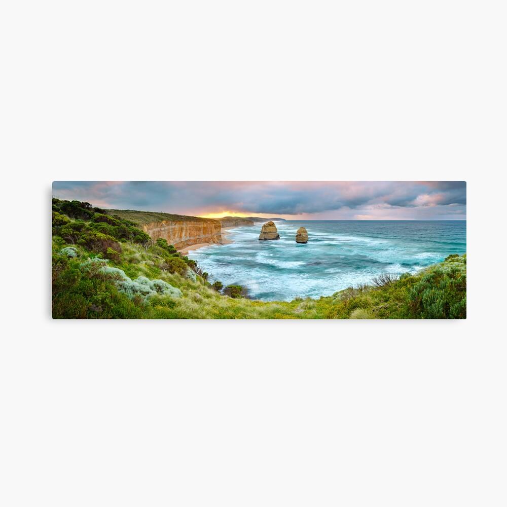 Gibsons Beach, Twelve Apostles, Great Ocean Road, Victoria, Australia Canvas Print